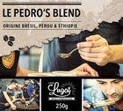 Caf� en grains : Le Pedro's Blend (M�lange Gourmand) - 250g - Caf�s Lugat