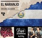 Café en grains : Salvador - El Naranjo - 1Kg - Cafés Lugat