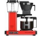 Cafetière filtre Moccamaster KBG741 Rouge 1.25L Pack Pro