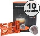 Italiano x10 Caffè Impresso compatible Nespresso