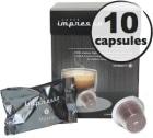 Milano x10 Caffè Impresso compatible Nespresso