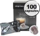 Milano x 100 Caffè Impresso compatible Nespresso