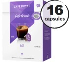 Capsules Dolce Gusto� compatibles Caf� Royal Caff� Grande x 16