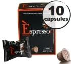 Capsule Espresso Cr�moso Caff� Vergnano x10 pour Nespresso