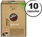 Capsule Biodégradable/Compostable Espresso Bio Caffè Vergnano x10 pour Nespresso