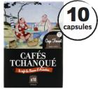 Capsules Cap Ferret Caf�s Tchanqu� x10 pour Nespresso