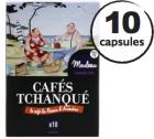 Capsules Moulleau Cafés Tchanqué x10 pour Nespresso