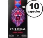 Capsules Café Royal Dark Roast x 10 pour Nespresso