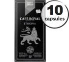 Capsules Caf� Royal So Ethiopia x 10 pour Nespresso