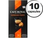 Capsules Caf� Royal Espresso Forte x 10 pour Nespresso