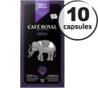 Capsules Café Royal So India x 10 pour Nespresso