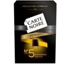 Capsules Carte Noire Espresso n°5 Délicat  x10 pour Nespresso