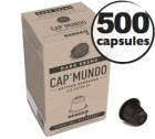 Capsules Dark Ebène x500 CapMundo pour Nespresso