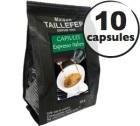 Capsules Expresso Italien x 10 Taillefer pour Nespresso