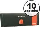 Capsules Mattino Caffè Mauro x10 pour Nespresso
