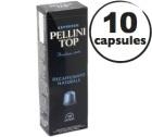 Capsules Pellini Top Decaffeinato x10 pour Nespresso