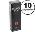 Capsules Pellini Top x10 pour Nespresso