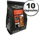 Capsules saveur Caramel x 10 Taillefer pour Nespresso