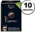 Capsule Biodégradable/Compostable Espresso Arabica Caffè Vergnano x10 pour Nespresso