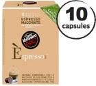 Capsule Biodégradable/Compostable Espresso Macchiato Caffè Vergnano x10 pour Nespresso