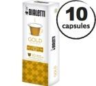 Capsules Dolce (Gold) Bialetti x10 pour Nespresso