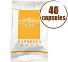Caf� Capsules x40 Expresso FAP Doux - Caf�s RICHARD