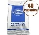Café Capsules x40 Expresso FAP Decafeiné - Cafés RICHARD