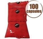 Capsules Espresso Crema x100 (capsules FAP) - Caffè Vergnano