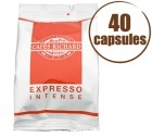 Café Capsules x40 Expresso FAP Intense - Cafés RICHARD