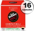 Capsule Lavazza a Modo Mio� compatible Cremoso Caff� Vergnano x16