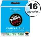 Capsule Lavazza a Modo Mio® compatible Decaffeinato Caffè Vergnano x16