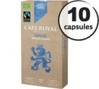 Capsules Café Royal Lungo 100% Bio/Faitrade x 10 pour Nespresso