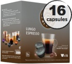 Capsules compatibles Dolce Gusto® Oquendo Mepiachi Lungo x 16