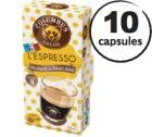 Capsules Espresso Columbus Café & Co x10 pour Nespresso