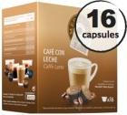 Capsules compatibles Dolce Gusto® Oquendo Mepiachi Caffe Latte x 16