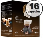 Capsules compatibles Dolce Gusto� Oquendo Mepiachi Espresso x 16