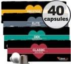 Pack d�couverte Cosmai Caffe - 40 capsules pour Nespresso