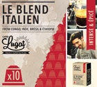 Capsules Le Blend Italien Cafés Lugat x10 pour Nespresso