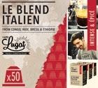 Capsules Le Blend Italien Cafés Lugat x50 pour Nespresso