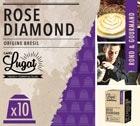 Capsules Rose Diamond Cafés Lugat x10 pour Nespresso