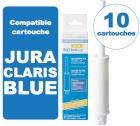 10 Cartouches BestCup BLUE compatible Jura ENA Claris BLUE