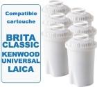 6 cartouches filtrante Filter Logic FL601G compatible Brita classic
