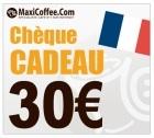 Chèque Cadeau Maxicoffee 30€
