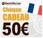 Chèque Cadeau Maxicoffee 50€