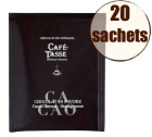 Display chocolat en poudre instantan� cacao intense x20 - Caf�-Tasse
