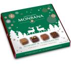 Assortiment de 16 chocolats fins fourrés au praliné - Monbana
