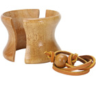 Collier en bois de remplacement pour Chemex