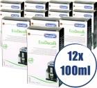 Lot de 12 Détartrants Delonghi EcoDecalk pour machine expresso - 12 x 100 ml