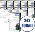 Lot de 24 Détartrants Delonghi EcoDecalk pour machine expresso - 24 x 100 ml