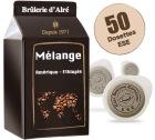 Dosettes ESE M�lange x 50 - Br�lerie d'Alr�
